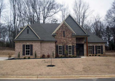 Memphis Home Builders Exterior Gallery Mansfield 116tanner
