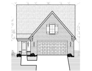 Floor Plan (Walker Meadows Maple) Version 1 D&D Custom Homes