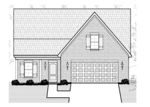Floor Plan (Walker Meadows Willow) Version 1 D&D Custom Homes