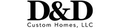 Logo Version 1 D&D Custom Homes 01 Copy