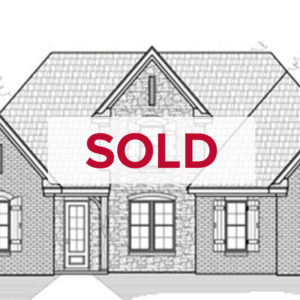 SOLD Memphis Home Builders SR Remington Floor Plan Elevation