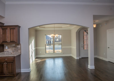 Memphis Home Builders | Lot 85 SR Living Area