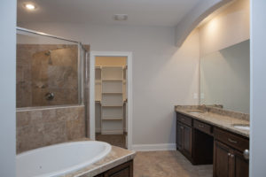 Memphis Home Builders | Lot 85 SR Master Bath