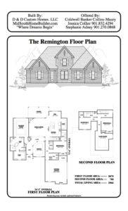 memphis home builders sr remington floor plan d d custom homes memphis home builders sr remington