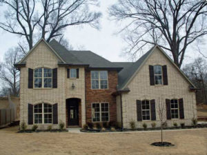 Memphis Home Builders Exterior Gallery Barksdale 46tanner
