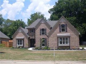 Memphis Home Builders Exterior Gallery Ext Elev 1 (1)