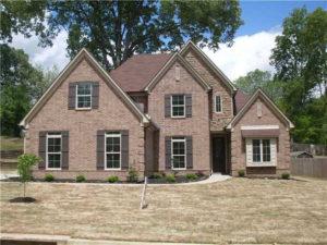 Memphis Home Builders Exterior Gallery Ext Elev 1